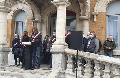 Un hommage digne et émouvant à Samuel Paty à Méricourt