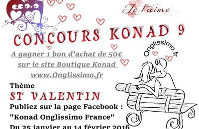 Concours Stamping Konad Onglissimo france n°9