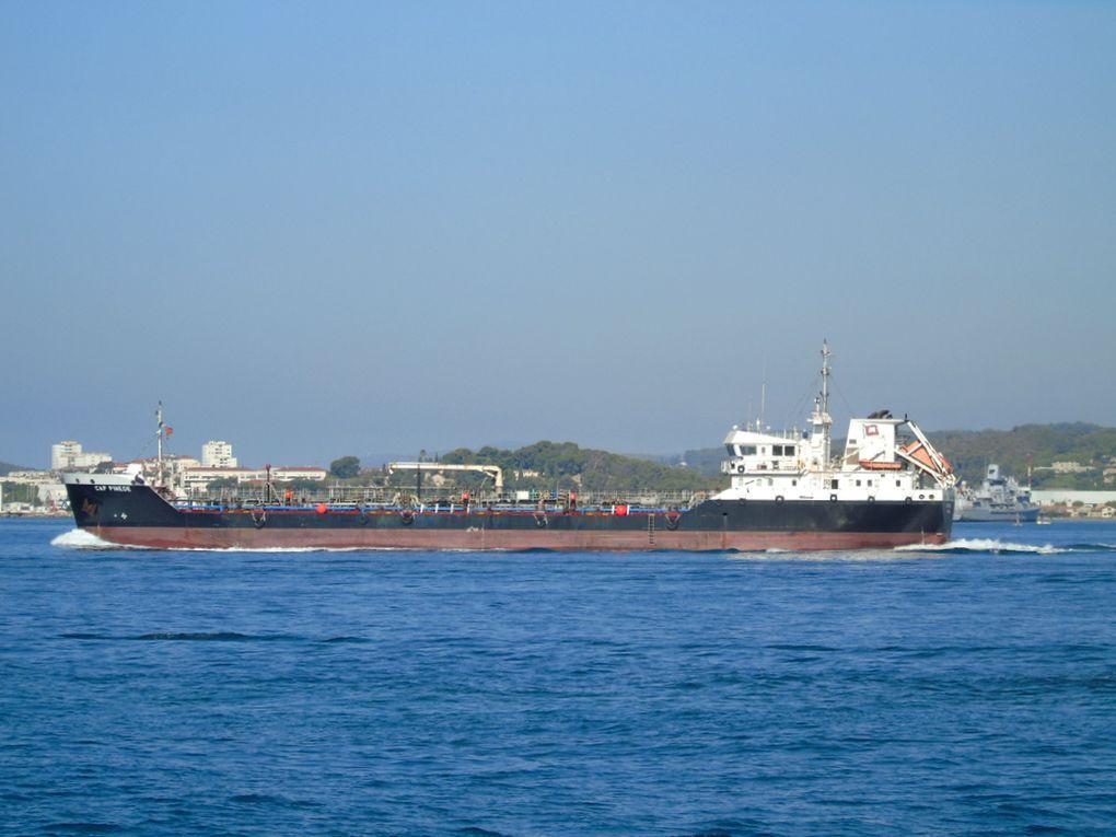 CAP PINEDE , appareillant du port de Toulon le 25 aout 2020