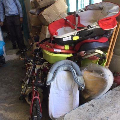 le 22 mai 2021 - préparation livraison INPE Orphelinat de La Manouba