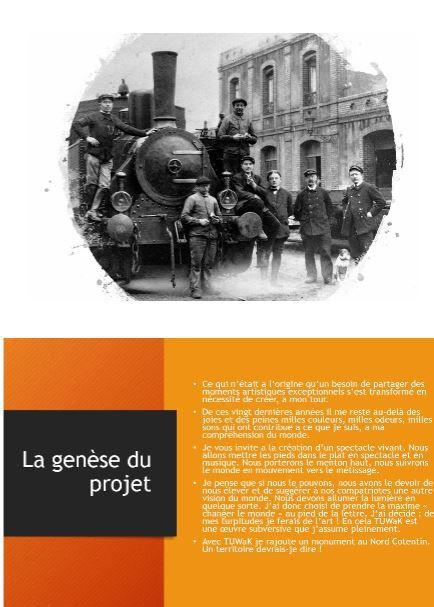 Un projet pour le departement de la Manche (50).