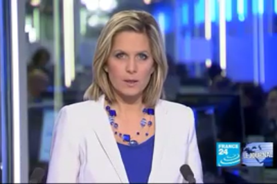 2012 01 06 @17H00 - SONIA PATRICELLI, FRANCE 24, LE JOURNAL