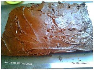 Gâteau de la ferme au chocolat et pâte à tartiner au cookies au thermomix ou sans