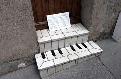 Escalier en clavier
