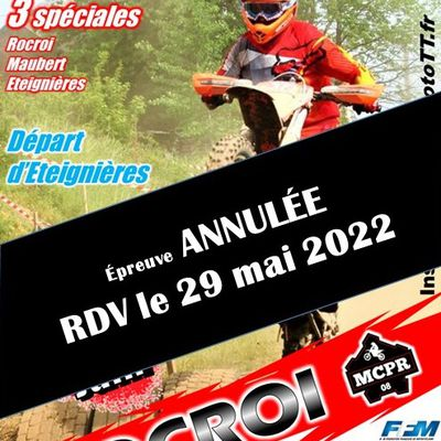 Annulation Enduro 2021