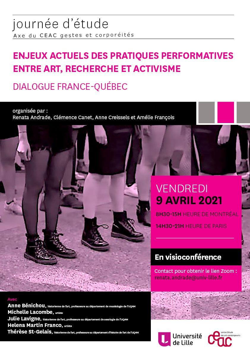 Enjeux actuels des pratiques performatives entre art, recherche et activisme