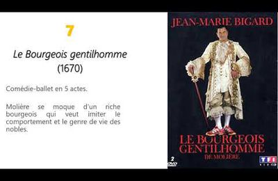 """Parcours """"Spectacle et comédie"""" dans Le Malade imaginaire de Molière"""