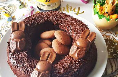 Couronne au chocolat à la Leffe -Compile Moi Un Menu