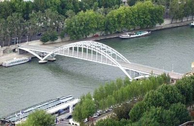 Les ponts de Paris: La passerelle Debilly