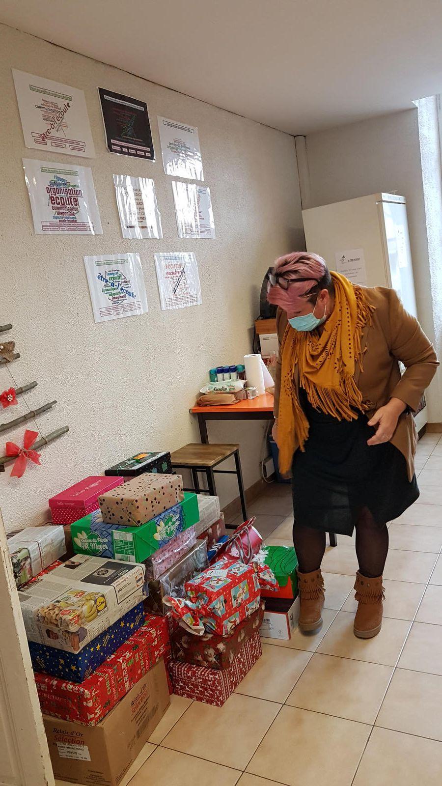 Salies du Salat - 750 boites de Noël à distribuer en Comminges