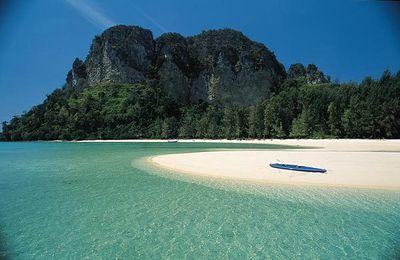 ¿Qué se debe señalar en un mapa de Tailandia para visitar?