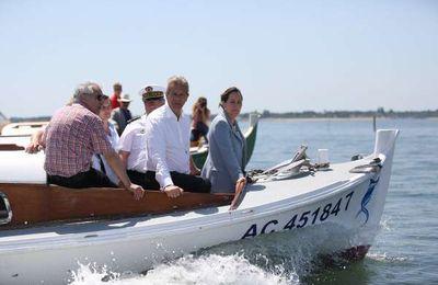 Bassin d'Arcachon : Ségolène Royal a créé le parc naturel marin