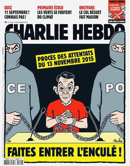 Charlie Hebdo. Procès des attentats du 13 novembre 2015.