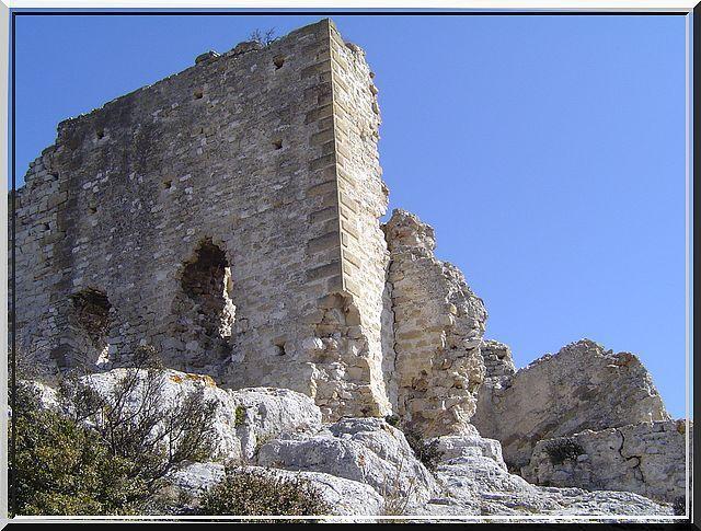 Diaporama château d'Aureille