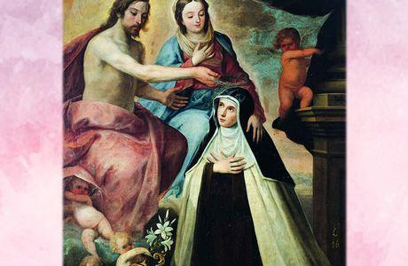 25 Maggio : Santa Maria Maddalena de' Pazzi - Preghiere e vita