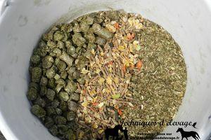 Céréales, grains, moulées, concentrés, granulés et floconnés…