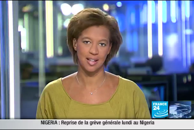 2012 01 16 @17H00 - PAULINE SIMONET, FRANCE 24, LE JOURNAL