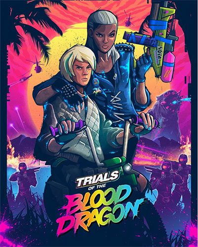 Jeux video: Trials of the Blood Dragon sur #PS4 #XboxOne !
