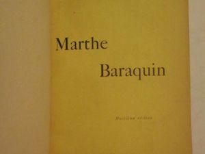 "J.-H. Rosny aîné ""Marthe Baraquin"" (Plon - 1909) [dédicacé]"