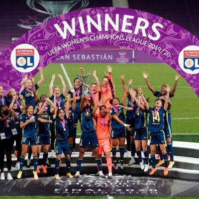 Ligue des champions féminine : les Lyonnaises, indétrônables reines d'Europe