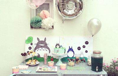 Sweet Table Totoro