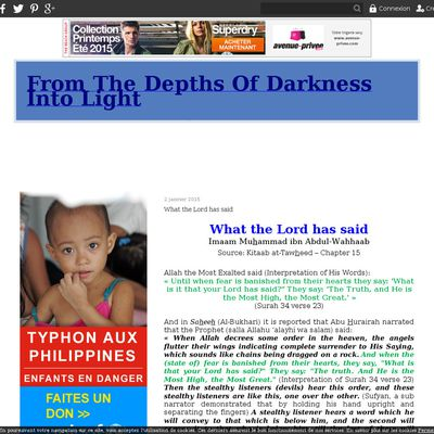 From The Depths Of Darkness Into Light