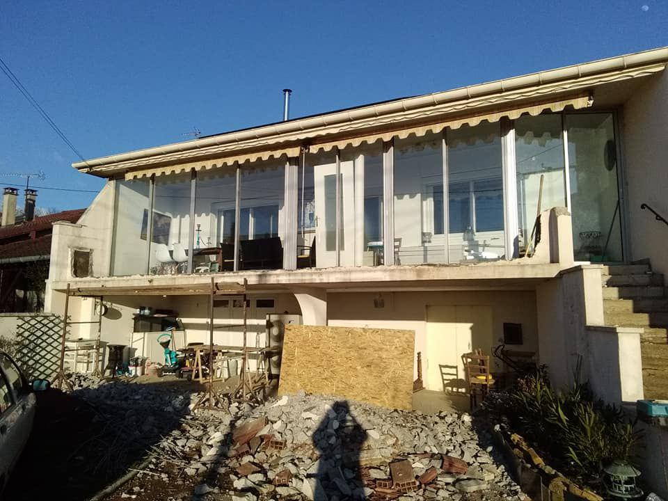 Restauration d'un balcon