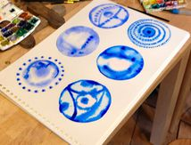 Ateliers hebdomadaires d'Art-thérapie