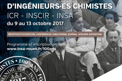 100 ans ( ICR-INSCIR-INSA Rouen ) MOBILISATION GÉNÉRALE !