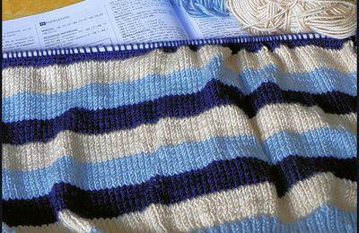Petite avancée en tricot