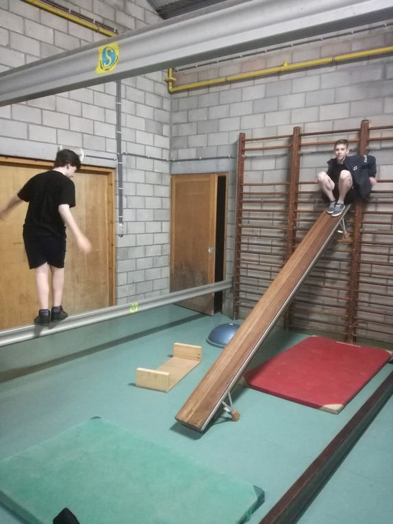 Le Circuit d'équilibre et d'audace en gym 2017