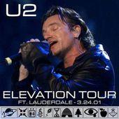 U2 -Elevation Tour -24/03/2001 -Fort Lauderdale USA- National Car Rental Center - U2 BLOG