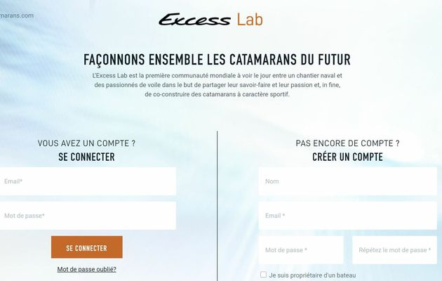 Excess Catamarans - the Excess Lab is open, to discuss the brand's future catamarans