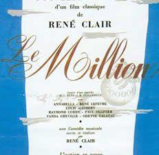 Le Million de René Clair
