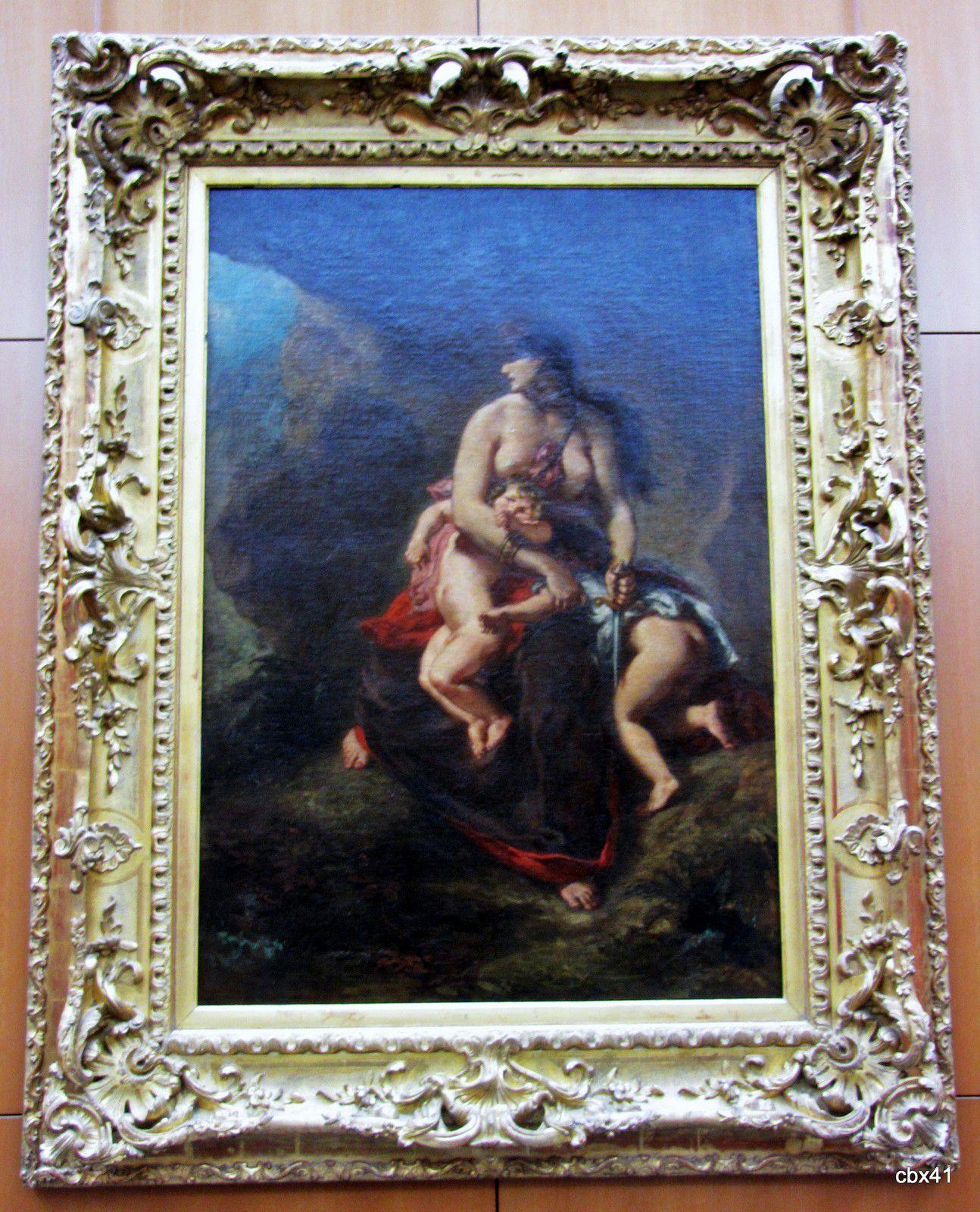 Eugène Delacroix, Médée furieuse