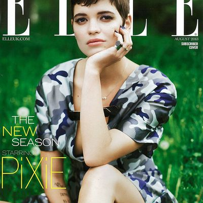 Pixie Geldof now also @ Women, NY