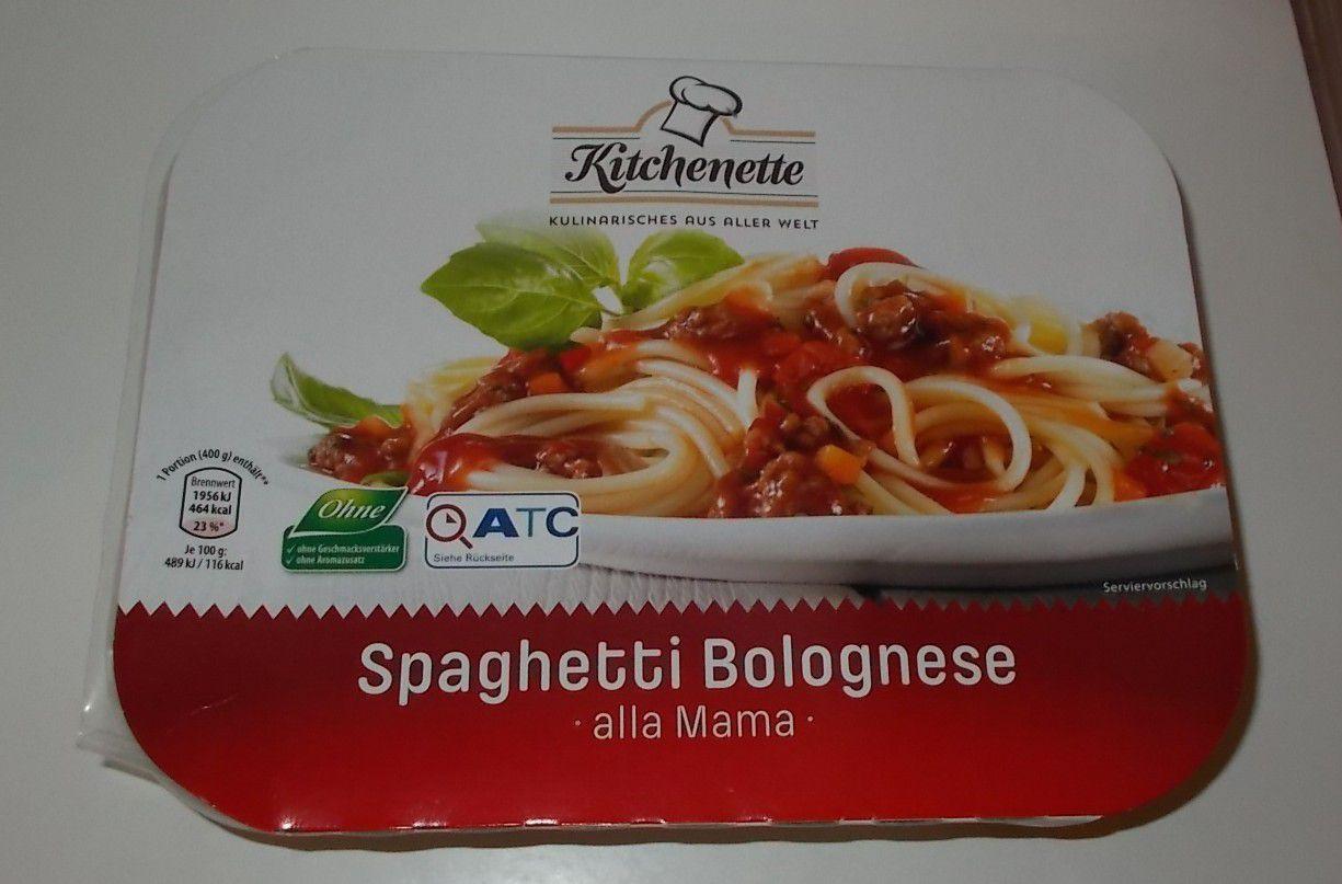 Aldi Kitchenette Spaghetti Bolognese alla Mama