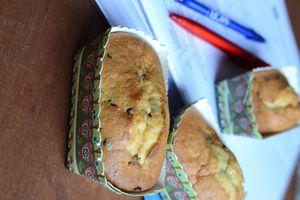 Mini cakes aux pépites de chocolat