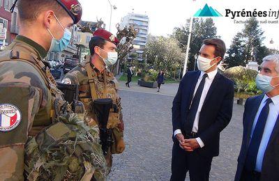 Tarbes :: Les militaires de l'opération Sentinelle se déploient en Bigorre / Pyrénées Infos