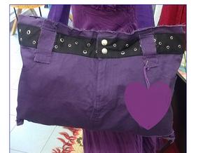 Come realizzare una borsa da una minigonna
