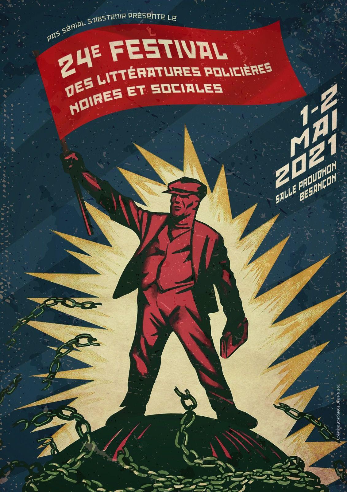 Report du 24ème Festival des littératures policières, noires et sociales de Besançon