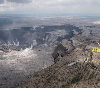 HAWAI : L'effondrement du sommet du Kilauea est le plus important dans l'histoire récente ont révélé les volcanologues du USGS