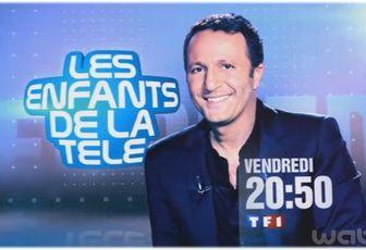 """Audience : """"Les enfants de la télé"""" leader de la soirée, hier sur TF1"""