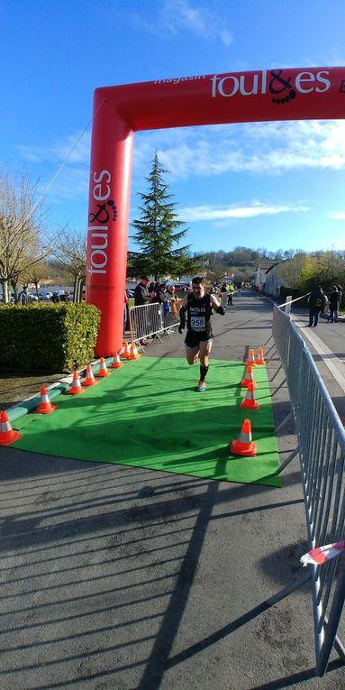 Résultats 5 et 10km La Vallée des Sources à Nanteuil 2018