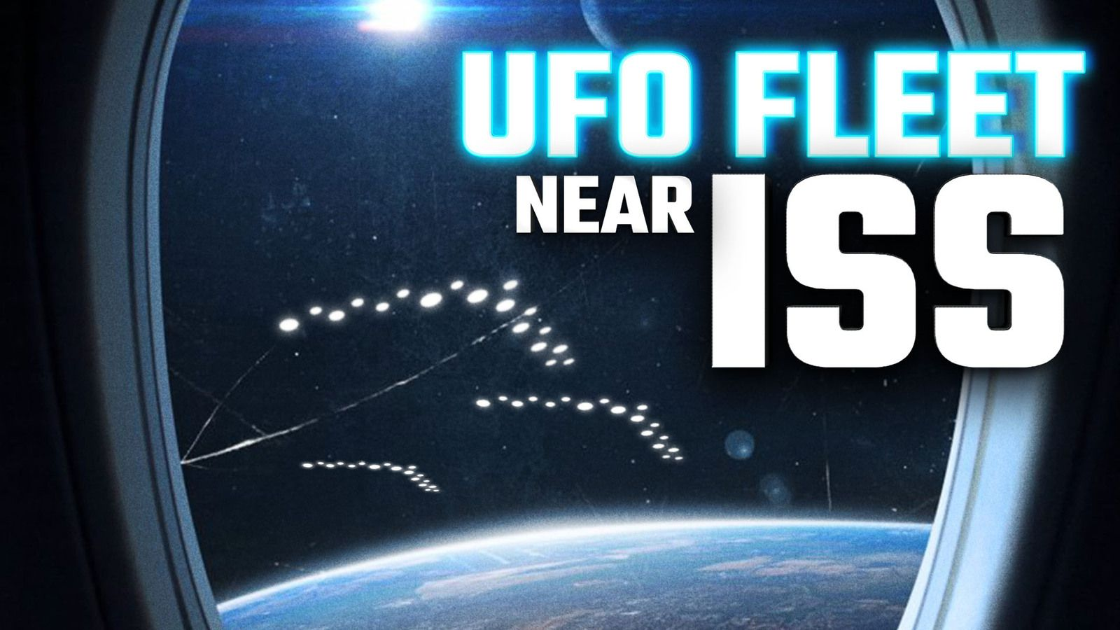 UFO SIGHTING NEWS : FLEETS OF UFOS Spotted near ISS in NASA LIVE Stream 👽
