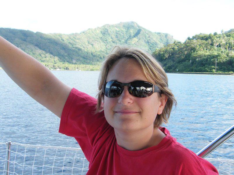 Photos et images de notre croisière en familles dans les îles de la Société.