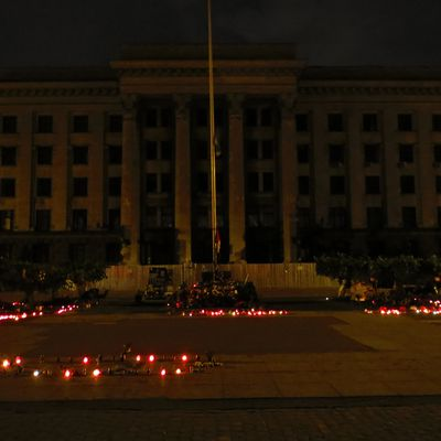 20 - A journey to Odessa on political conflict background