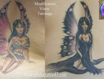 modification ancien tatouage