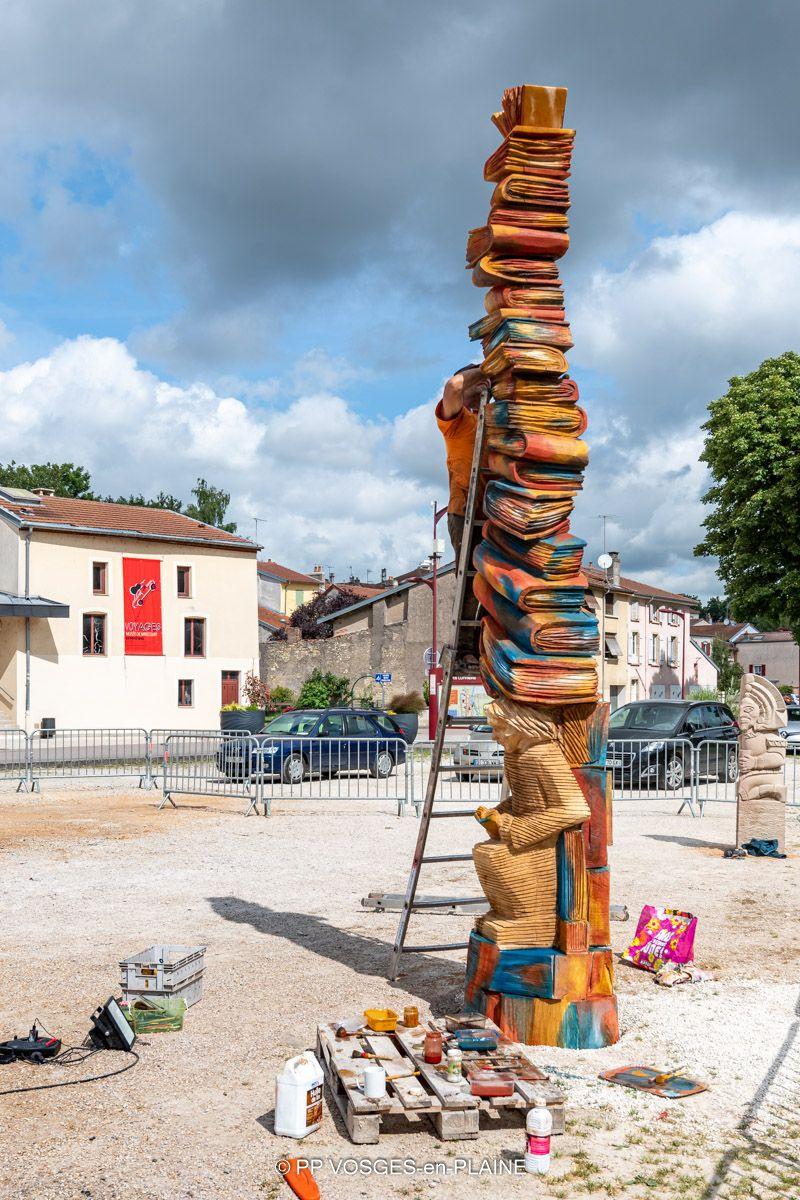 Retour sur le 8è Symposium de Sculptures de MIRECOURT