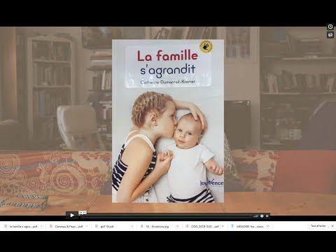 """""""La famille s'agrandit"""" de Catherine Dumonteil Kremer chez Jouvence en librairie ce mois-ci :-)"""